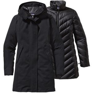 Patagonia Tres 3-in-1 Down Parka Black Size Small
